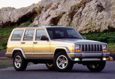 Jeep Models 2000