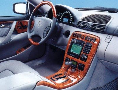Mercedes Benz Cl500 Interior 2000 Mercedes-benz Cl500