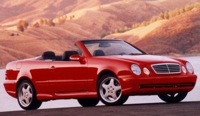 2000 Mercedes-Benz CLK430 Cabriolet