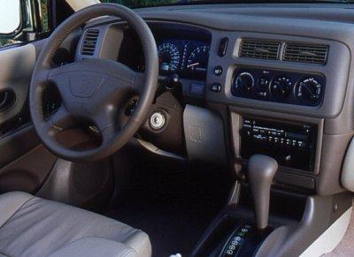 2000 Mitsubishi Montero Sport Limited Interior
