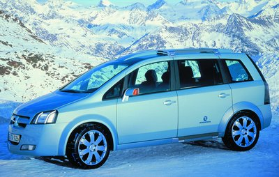 Opel Zafira Snowtrekker concept