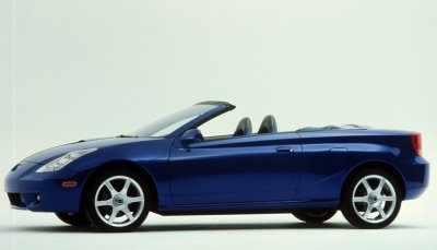 2000 Toyota Celica Convertible Information