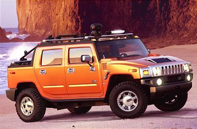 2001 Hummer H2 SUT concept