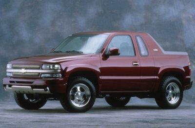 2001 Chevrolet Blazer K5 information