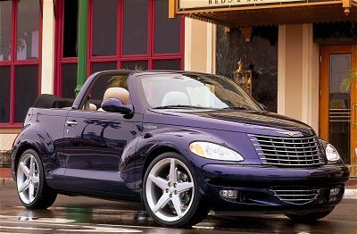2001 Chrysler PT Cruiser Convertible Styling Study