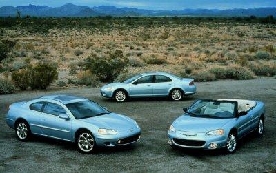 2001 Chrysler Sebring models