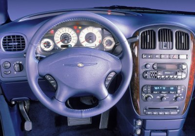 2001 Chrysler Town & Country interior