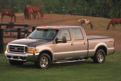 2001 Ford F250 Platinum Edition