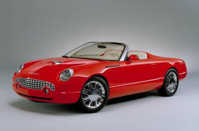 2001 Ford Thunderbird Roadster concept