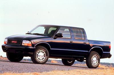 2001 GMC Sonoma Crew Cab