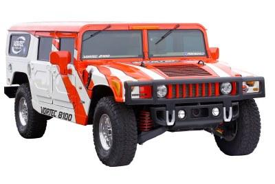 2001 Hummer Alpha 1 concept