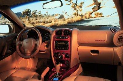 2001 Hyundai Santa Fe interior