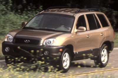 2001 Hyundai Sante Fe