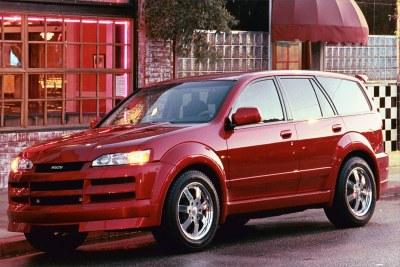 2001 Isuzu Axiom XSF concept