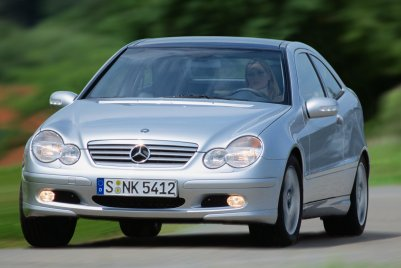 2001 Mercedes-Benz C-Class Sports Coupe