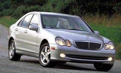 2001 Mercedes-Benz C-Class Sport