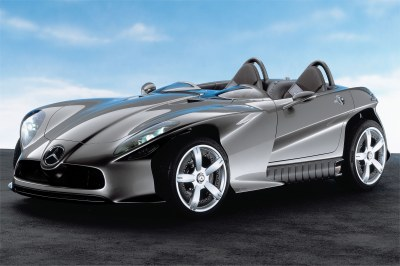2001 Mercedes Benz F400 Carving concept
