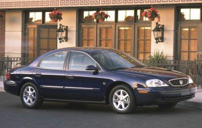 2001 Mercury Sable sedan