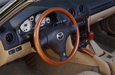 2001 Mazda Miata Special Edition interior