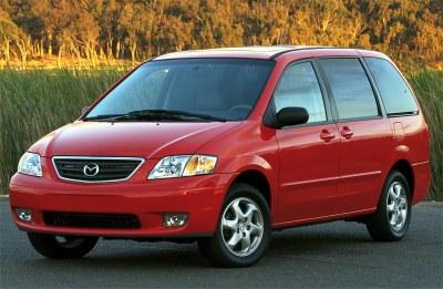 2001 Mazda MPV ES