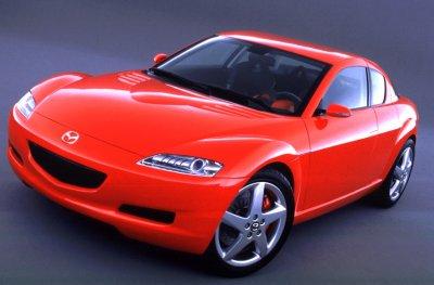 2001 Mazda RX8 Production concept