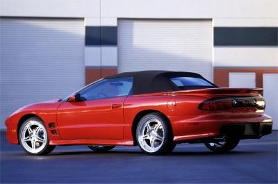 2001 Pontiac Firebird Raptor concept