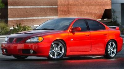 2001 Pontiac Grand Am Hot Wheels concept
