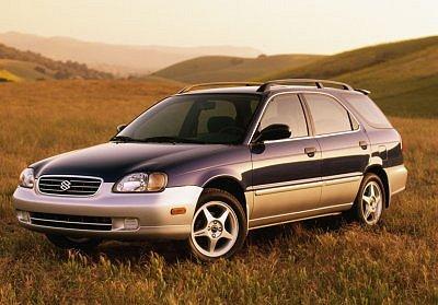 2001 Suzuki Esteem wagon