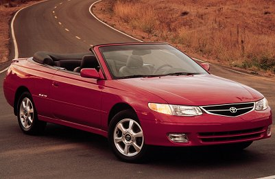 2001 Toyota Solara convertible