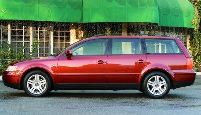 2001 Volkswagen Passat GLX 4Motion Wagon