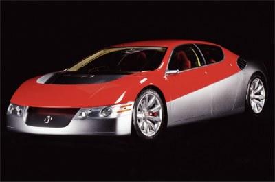 2002 Acura DN-X concept