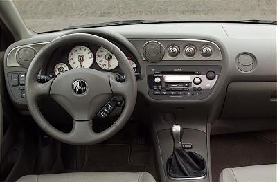 2002 Acura RS-X Type S interior