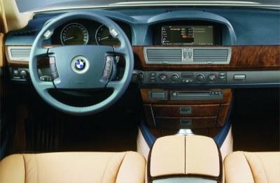 2002 BMW 7-Series instrumentation
