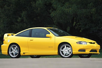 2002 Chevrolet Cavalier 2.2 Turbo Sport Coupe concept