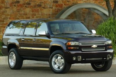 2002 Chevrolet Lucchese Suburban concept
