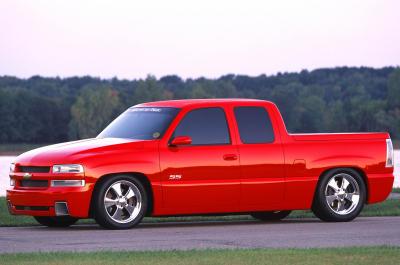 2002 Chevrolet Silverado SST concept