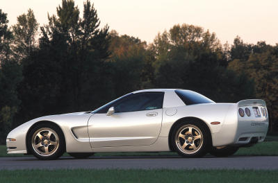 2002 Chevrolet White Shark Corvette concept