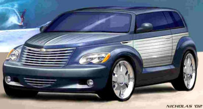 2002 Chrysler California Cruiser Concept