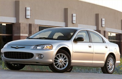 2002 Chrysler Sebring Lxi Sedan