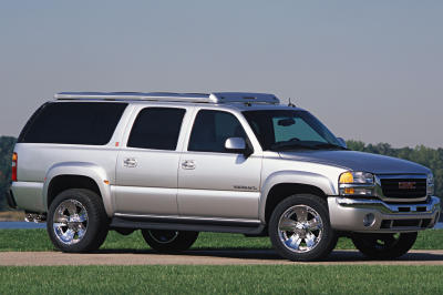 2002 GMC Yukon XL Outdoor Living Pro concept