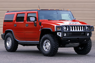 2002 Hummer H2 Upscale Performance concept