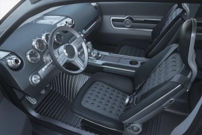 2002 Jeep Compass concept interior