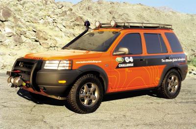 2002 Land Rover Freelander G4 Challenge concept