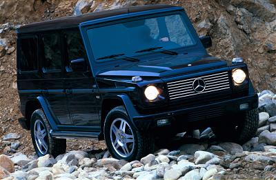 2002 Mercedes-Benz G500