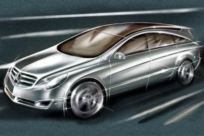 2002 Mercedes Benz Vision GST concept