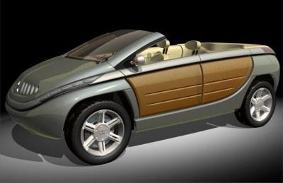 2002 Mitsubishi S.U.P. Cabrio concept