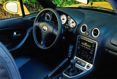 2002 Mazda Miata Special Edition interior