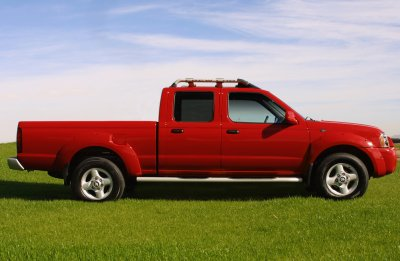 2002 Nissan Frontier Crew Cab Long Bed