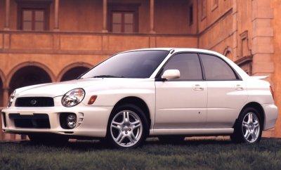2002 Subaru Impreza 2.5RS Sedan