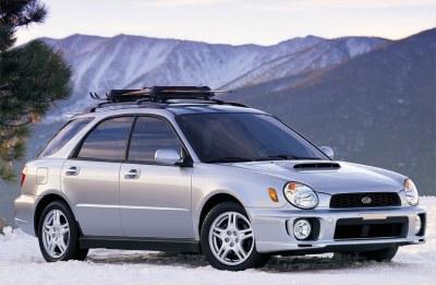 2002 Subaru Impreza WRX Wagon